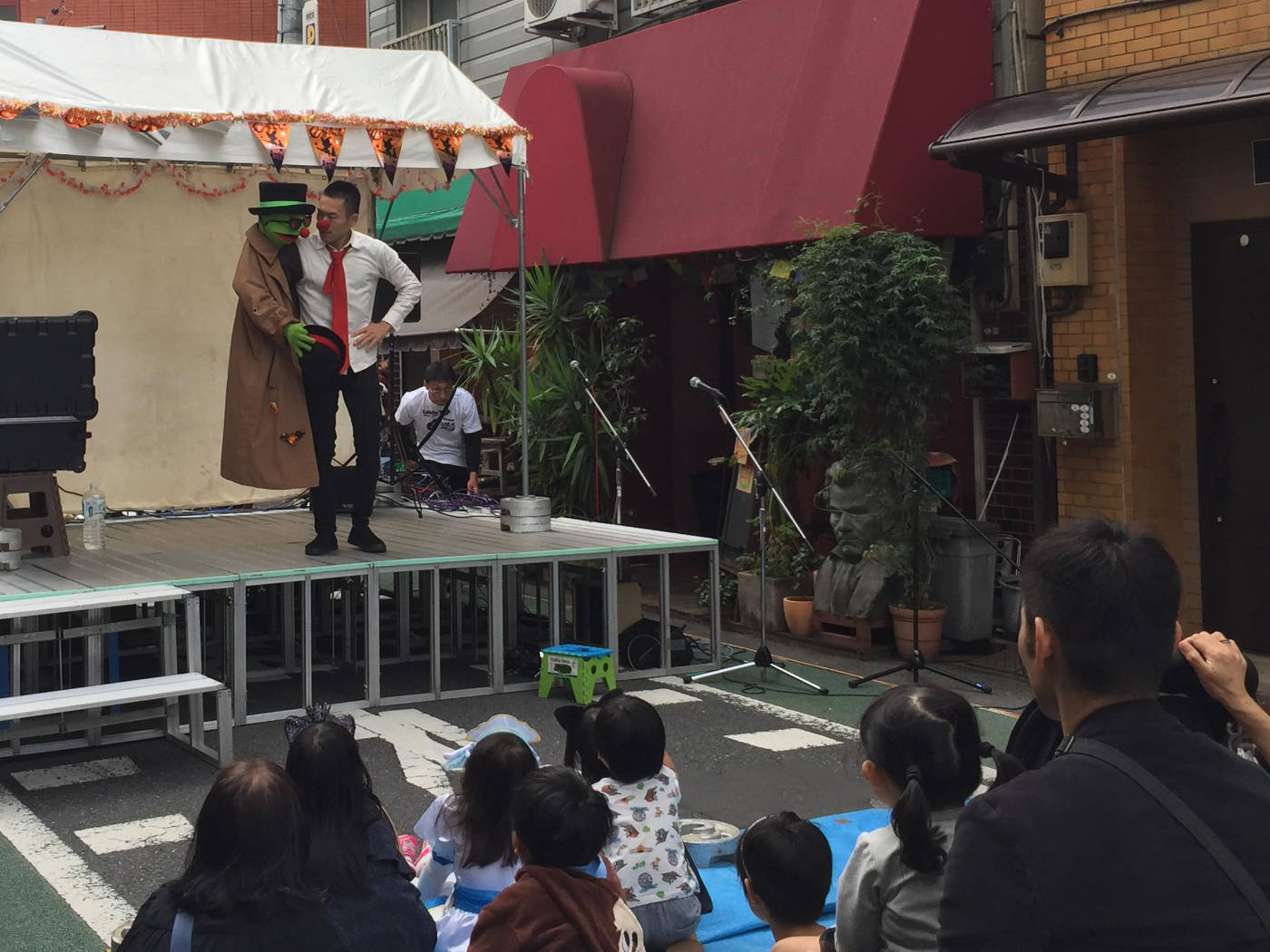 しもとりゆう商店街イベントの写真